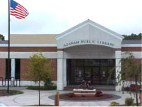 Front of the Library